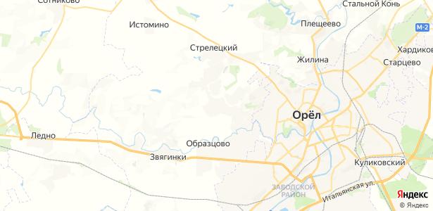 Шиловский на карте