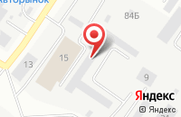 Схема проезда до компании Сантехсервис в Твери