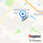 Автокомплекс на карте Твери