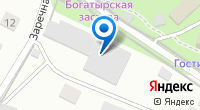 Компания Магазин стройматериалов на Заречной на карте