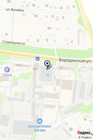 МАГАЗИН АВТОЗАПЧАСТЕЙ ФОМИНА Л.Е. на карте Можайска