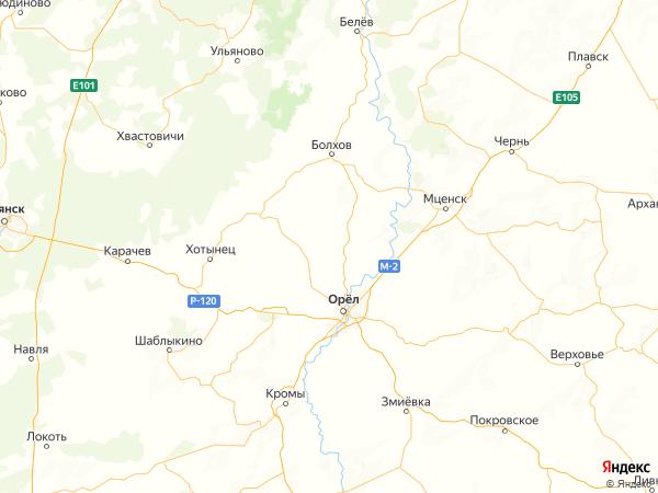 деревня Калуга на карте