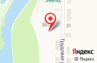 Схема проезда до компании ГончаровЪ в Полотняном Заводе