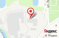 Схема проезда до компании Полотняно-заводская бумажная фабрика в Полотняном Заводе