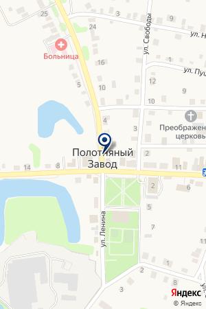 Сгомонь на карте Полотняного Завода