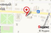 Схема проезда до компании Отделение почтовой связи в Полотняном Заводе