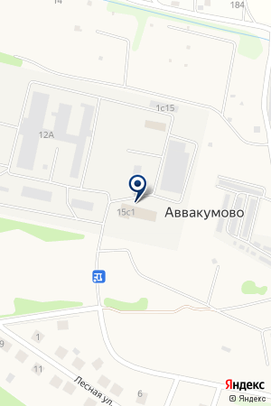 СпецКраска на карте Аввакумово