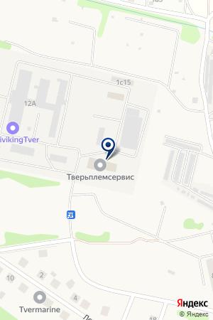 Тверской Мотозавод на карте Аввакумово