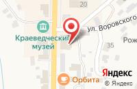 Схема проезда до компании Интро-М в Болхове