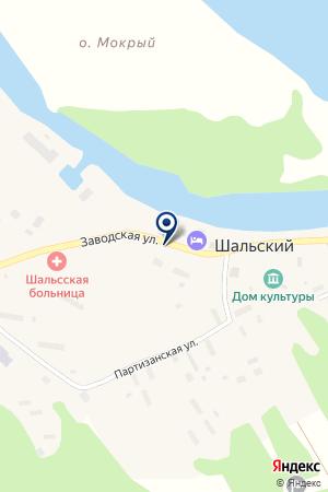 ДОМ СЕСТРИНСКОГО УХОДА на карте Пудожа