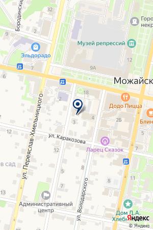 МАГАЗИН АВТОЗАПЧАСТЕЙ КОНКИН В.М. на карте Можайска