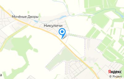Местоположение на карте пункта техосмотра по адресу Орловская обл, Орловский р-н, с/п Лошаковкое, ул Наугорская, д 19
