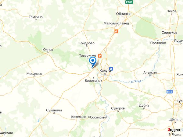 поселок Учхоза Лев-Толстовского Сельскохозяйственного Техникума на карте