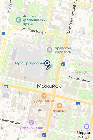 АГЕНТСТВО НЕДВИЖИМОСТИ на карте Можайска