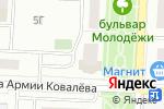 Схема проезда до компании Новая медтехника в Зареченском