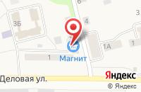 Схема проезда до компании Магнит в Куровском
