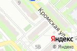 Схема проезда до компании Людмила плюс в Орле