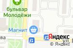 Схема проезда до компании Магазин мебели в Зареченском