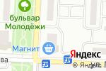 Схема проезда до компании Гармония в Зареченском