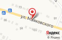 Схема проезда до компании Альфа в Болхове
