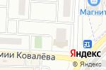 Схема проезда до компании Топ-Топ в Зареченском