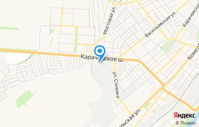 Местоположение на карте пункта техосмотра по адресу г Орёл, ш Карачевское, д 79 стр р