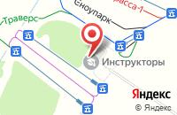 Схема проезда до компании Яр в Бакшеево