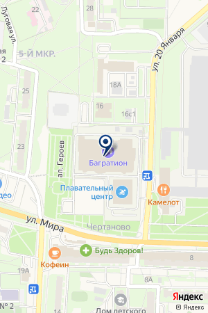 ФИТНЕС-ЦЕНТР на карте Можайска