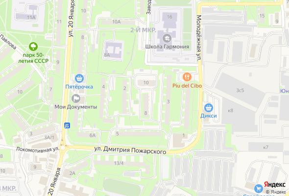жилой комплекс На Дмитрия Пожарского
