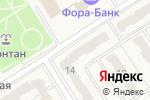 Схема проезда до компании Радуга в Воротынске