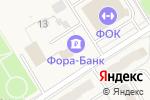 Схема проезда до компании Банкомат, АКБ Фора-банк в Воротынске