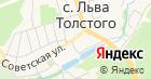 Магазин метизов на Советской на карте