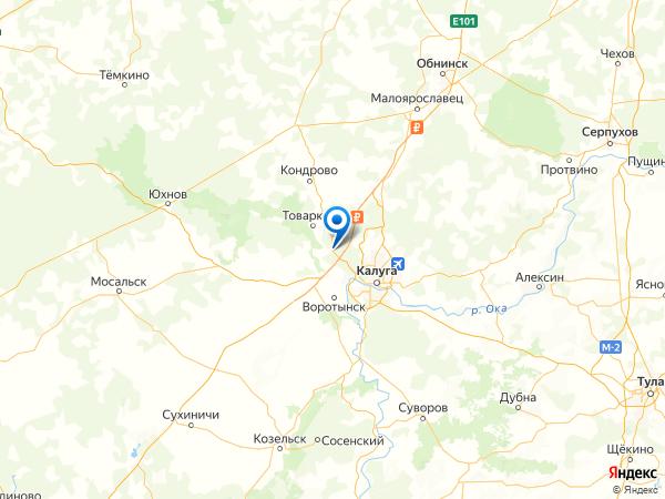 село имени Льва Толстого на карте