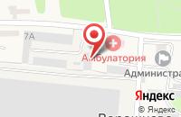 Схема проезда до компании KWT в Ворошнево