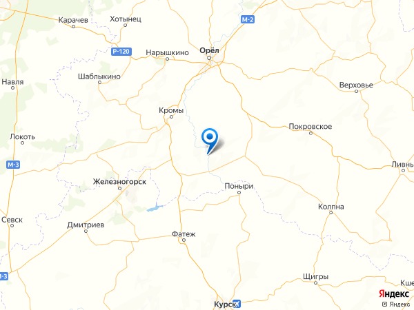село Богородское на карте