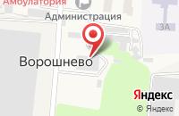 Схема проезда до компании Сейм-Агро в Ворошнево