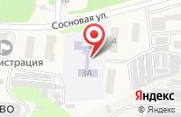Схема проезда до компании Елочка в Ворошнево