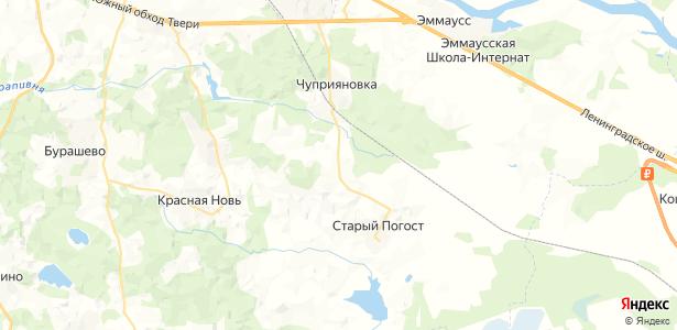 Чуприяново на карте