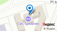 Компания Сахарово на карте
