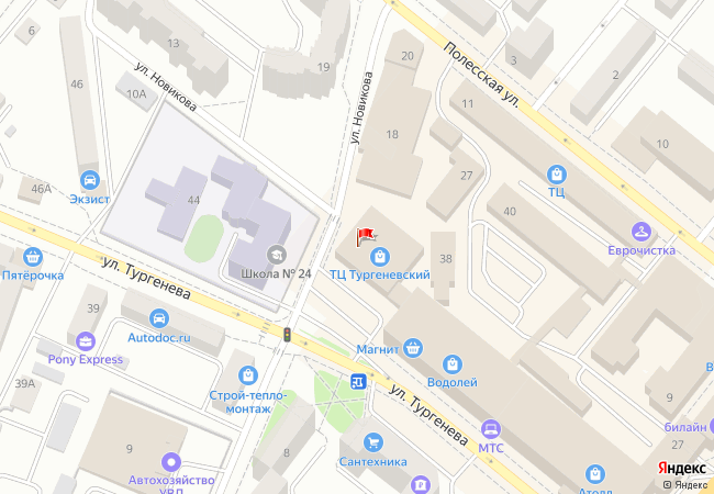 ЧИП и ДИП на Яндекс.Карте