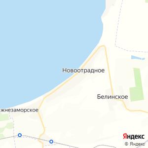 Карта города Новоотрадного