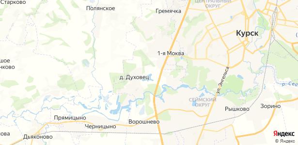 Майская Заря на карте