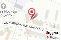 Схема проезда до компании Тверской центр агрохимической службы в Сахарово