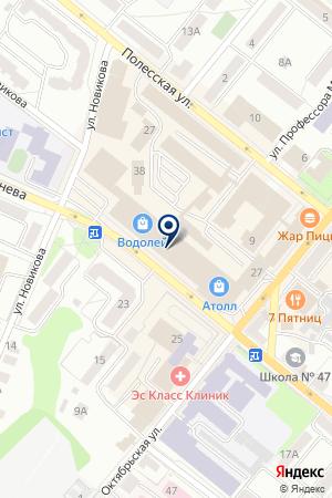 АПТЕКА ТВОЕЗДОРОВЬЕ на карте Орла