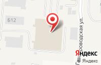 Схема проезда до компании Дана в Ворошнево
