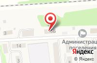 Схема проезда до компании Администрация городского поселения пос. Пятовский в Пятовском