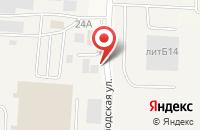 Схема проезда до компании КурскАгроПродукт в Ворошнево