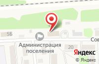 Схема проезда до компании Парикмахерская на Советской в Пятовском