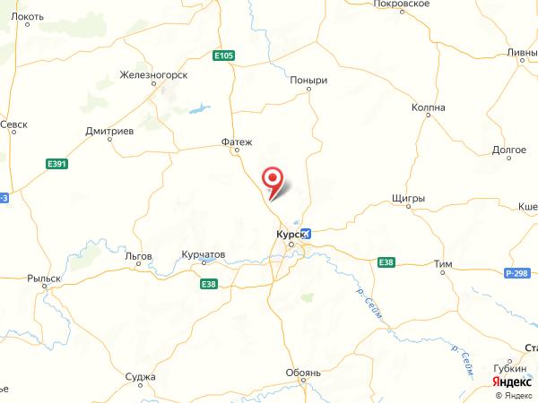 деревня Пашино на карте