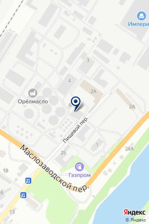 АТП СОЮЗ ОРЛОВЩИНЫ на карте Орла